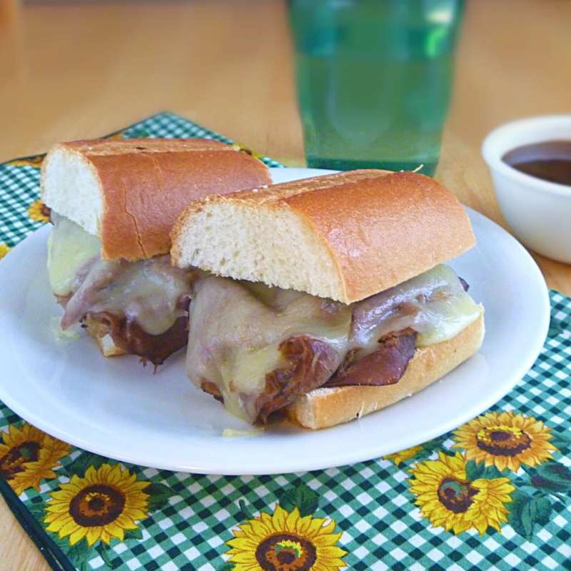 Dripping Roast Beef Sandwiches 1
