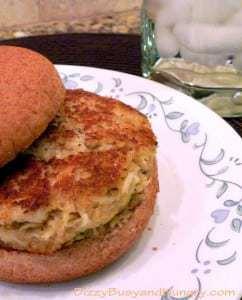 Crab Cake Burger 2