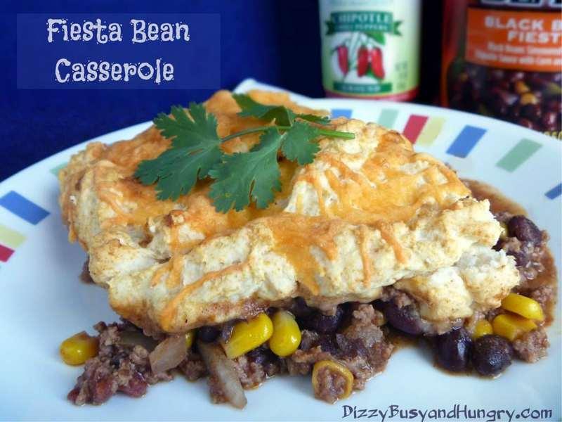 Fiesta Bean Casserole b