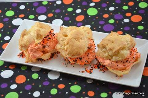 Creams Puffs for Halloween