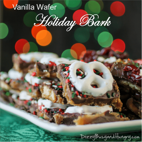 vanilla wafer holiday bark-title