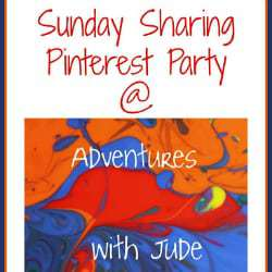 Sunday Sharing Pinterest Party Week 25