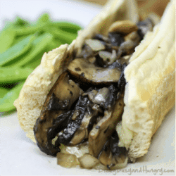 Meatless Philly Cheesesteak - Healthier yet amazingly delicious version of the ever-popular cheesesteak!