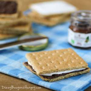 Lunchbox S'mores from DizzyBusyandHungry.com - Your kids will love brown-bagging it when they have this fun treat included in their lunch!
