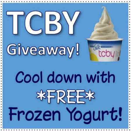 TCBY Giveaway!