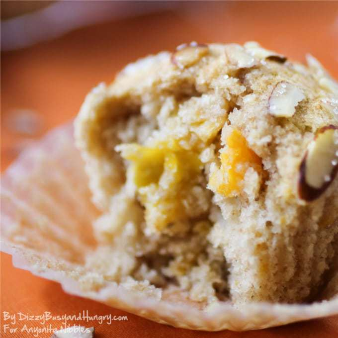 Mango Muffins - Moist, citrusy, and delicious, these muffins will brighten even a Monday morning! #muffins #breakfastrecipes #mango