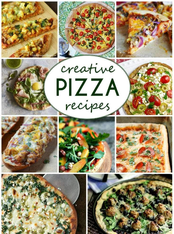 Creative Pizza Recipes | DizzyBusyandHungry.com - Jazz up pizza night with these 35 amazingly creative pizza ideas!