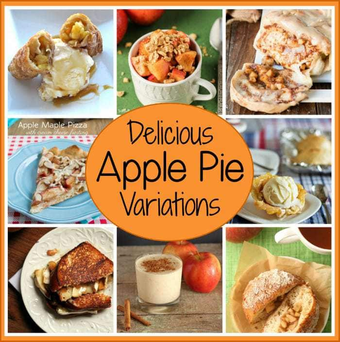 16 Fun and Delicious Twists on Apple Pie | DizzyBusyandHungry.com -