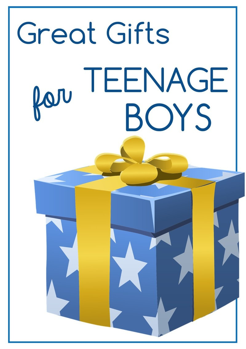 Great Gift for Teenage Boys | DizzyBusyandHungry.com - Need help finding the perfect gifts for the teenage guy in your life? Teenagers can be tough to buy for, but here are some great ideas to help you!