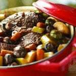 Slow Cooker Braised Pot Roast with Root Vegetables