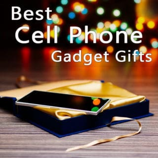 Best cell phone gadget gifts- cell phone square