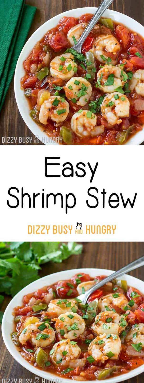 easy shrimp stew recipe long pin