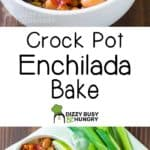 long pin for the crock pot enchilada bake