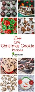 long collage of 8 christmas cookie recipes